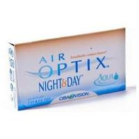 Soczewki kontaktowe, Air Optix Night and Day Aqua - 6szt