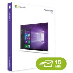 Windows 10 Professional, electronic certificate (ESD)Windows 10 Pro, digital license 32/64 bit