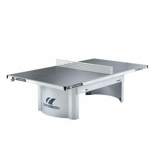 Tenis stołowy, Stół tenisowy PRO 510M OUTDOOR Szary + 2 rakietki i 3 piłeczki GRATIS!