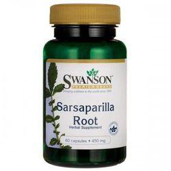 Swanson Kolcorośl Sarsaparyla (Sarsaparilla) 450 mg 60 kapsułek
