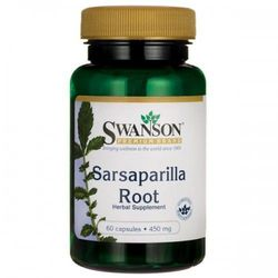 Swanson Sarsaparilla (Kolcorośl) 450mg - (60 kap)