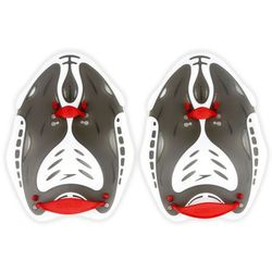 Wiosełka Speedo na dłonie Biofuse Power Paddle czerwono-szare