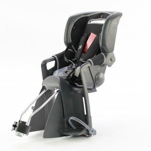 Foteliki rowerowe, Fotelik rowerowy ROMER JOCKEY 3 COMFORT BRITAX- kolor szaro-czarny 2020