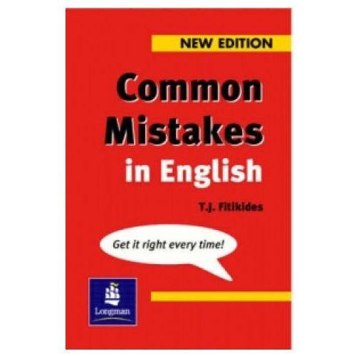 Książki do nauki języka, Common Mistakes In English (opr. miękka)
