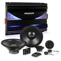 Pozostałe car audio-video, Auna CS-Comp-10 zestaw głośników samochodowych hi-fi | 6 -kanałowa końcowka mocy