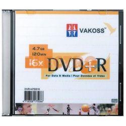 Płyta DVD+R VAKOSS 4.7GB 16X SLIM