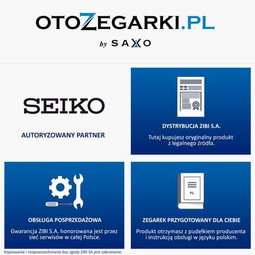 Zegarki unisex, Seiko SUN049P2