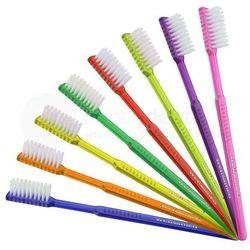 WELLSABRUSH szczoteczki jednorazowe z pastą do zębów o smaku miętowym - 100szt. - różne kolory