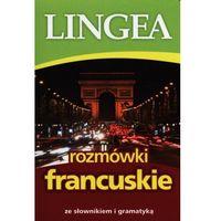 Książki do nauki języka, Rozmówki francuskie ze słownikiem i gramatyką (opr. broszurowa)