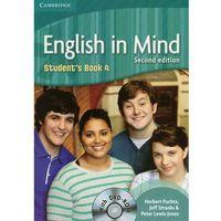Książki do nauki języka, English In Mind 4 Student's Book Z Płytą Dvd (opr. miękka)