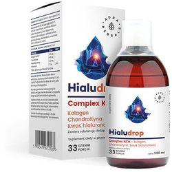 Hialudrop complex KCH - Kolagen, Chondroityna, Kw. Hialuronowy- 500 ml