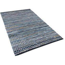Dywan niebieski bawełniany 80x150 cm ALANYA