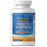 Prebotyki i probiotyki, ProBiotyk na jelita 3 mld + Pektyny / 100 kaps