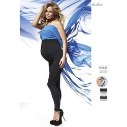 Legginsy bas bleu anabel ciążowe 200 den polar rozmiar: 6-xxl, kolor: czarny/nero, bas bleu