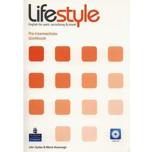 Książki do nauki języka, Lifestyle Pre-Intermediate WorkBook /CD gratis/ (opr. miękka)