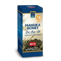 Miód Nektarowy Manuka MGO 100+ w saszetce 5 g - 12 szt - Manuka Health