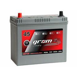 Akumulator GROM EFB START&STOP 45Ah 460A Japan Lewy Plus DTR