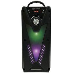 Power audio MANTA SPK811 Kosmo Czarny + Zamów z DOSTAWĄ JUTRO! + DARMOWY TRANSPORT!