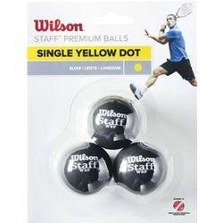 Wilson 3-Pack 1 kropka żółta