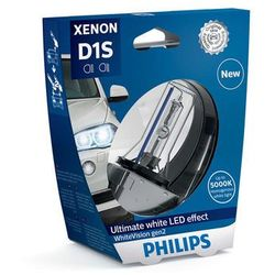 Żarówka samochodowa D1S Philips Xenon WhiteVision, PK32D, 35 W, 85 V, 1 szt.