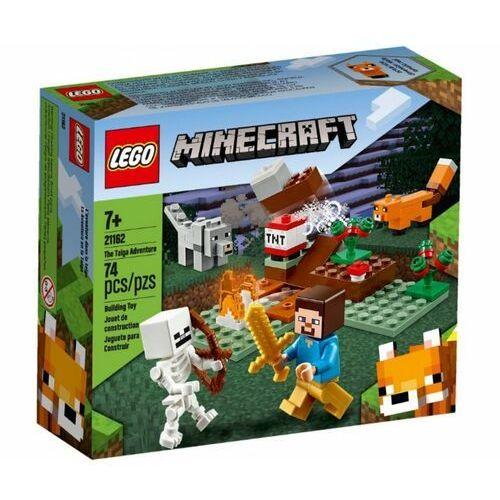 Klocki dla dzieci, 21162 PRZYGODA W TAJDZE (The Taiga Adventure)- KLOCKI LEGO MINECRAFT