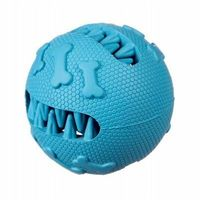 Piłki dla dzieci, Piłka szczęka kauczukowa na przysmaki M - blue