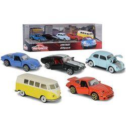 Pojazdy zestaw vintage, 5 sztuk