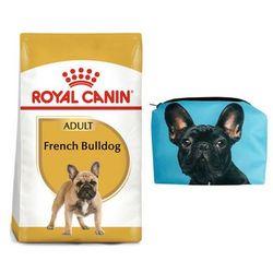 ROYAL CANIN French Bulldog adult 9 kg + Kosmetyczka piórnik materiałowy - DARMOWA DOSTAWA OD 95 ZŁ!