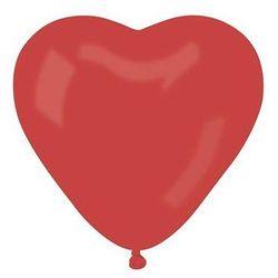Baloniki czerwone serca - 44 cm - 1 szt.