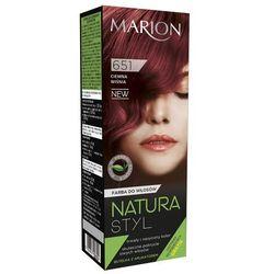 Marion Farba do włosów Natura Styl nr 651 ciemna wiśnia - MARION