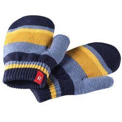Rękawiczki jednopalczaste Reima Stig niebieskie w paski czyszczenie-30 (-34%)