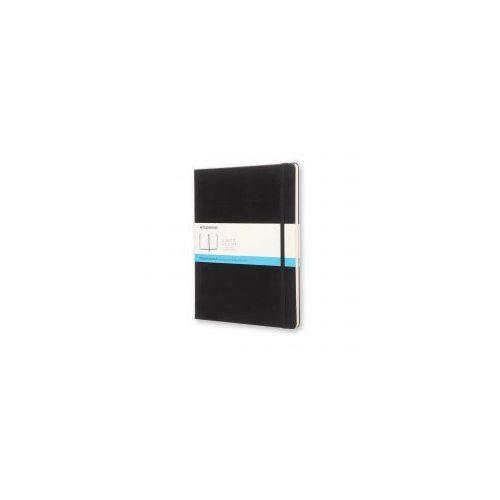 Notesy, Notes Moleskine XL czarny kropki w twardej oprawie 19x25cm (MOQP093)