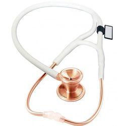 Stetoskop kardiologiczny MDF Classic Cardiology 797 różowe złoto - biały