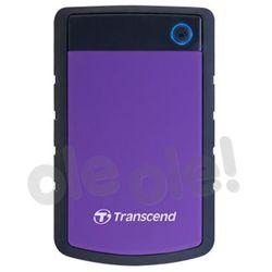 Transcend StoreJet 25 H3P 3TB USB 3.0 - produkt w magazynie - szybka wysyłka!
