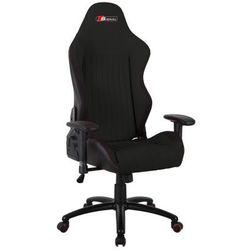 Fotel obrotowy SIGNAL Alpina - czarny - Fotel gamingowy dla gracza! DOSTAWA GRATIS Styczniowa Promocja!
