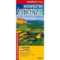 Mapy i atlasy turystyczne, Województwo Świętokrzyskie laminowana mapa samochodowo-turystyczna 1:200 000 (opr. miękka)