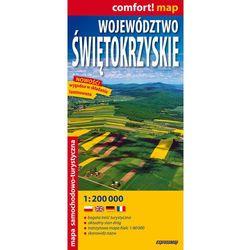 Województwo Świętokrzyskie laminowana mapa samochodowo-turystyczna 1:200 000 (opr. miękka)
