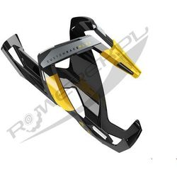 Koszyk na bidon ELITE Custom Race Plus czarny-żółty / Wykończenie: połysk