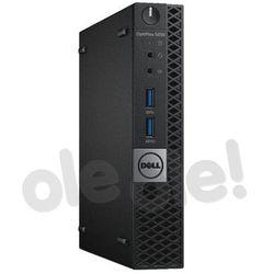 Zestaw komputerowy Dell Optiplex 5050 MFF (N002O5050MFF02) Darmowy odbiór w 21 miastach!