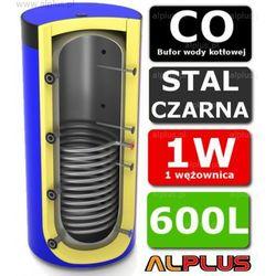 Bufor LEMET 600L z 1 Wężownicą do CO - Zbiornik Buforowy Zasobnik Akumulacyjny 600 litrów - Wysyłka Gratis