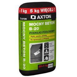 Wylewka betonowa MOCNY BETON B-20 30kg 20 - 60 mm AXTON