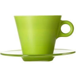 Filiżanka do kawy Cappuccino Ooh Magico Leonardo zielona (012275)