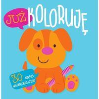Książki dla dzieci, Już koloruję - Piesek. Easy color 3 (opr. miękka)