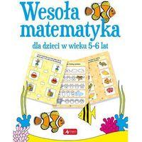 Książki dla dzieci, Wesoła matematyka dla dzieci w wieku 5-6 lat - Praca zbiorowa