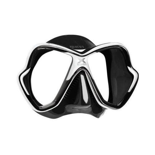 Maski, płetwy i fajki, Maska do nurkowania MARES X-Vision 411053 Czarno-biały DARMOWY TRANSPORT