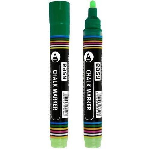 Markery, Marker kredowy zielony (12szt) EASY
