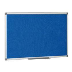 Tablica tekstylna - niebieska