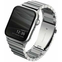 UNIQ pasek Strova Apple Watch 42/44MM Stainless Steel srebrny/sterling silver