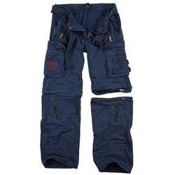Surplus Spodnie Trekkingowe Royal Outback 2w1 Navy - Navy Blue