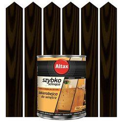 Lakierobejca szybkoschnąca do wnętrz Altax wenge 0,75 l